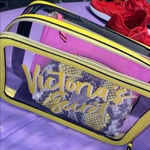 Victoria Secret Trio Makeup Bag Set